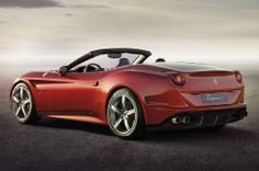 2015 Ferrari California T Rear Three Quarters View