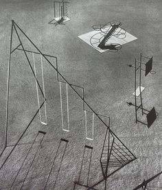 Isamu Noguchi – Proposed playground equipment intended for a park in Hawaii, 1941