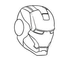 iron draw easy drawing marvel steps drawings outline few mask avengers line step sketches guides goukko makalenin kaynağı learn thor