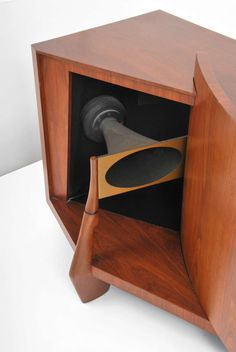 "Rare JBL ""Paragon D44000"" Speaker Cabinet H 35.5 in. W 8 ft. 7 in. $75,000"