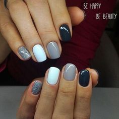 Image in nails hair makeup collection by: Discovered by …. Find images and videos about nails on We Heart It - the app to get lost in what you love. Classy Nails, Fancy Nails, Stylish Nails, Simple Nails, Trendy Nails, Pink Nails, Oval Nails, Nagellack Design, Get Nails