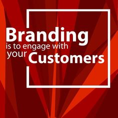 Branding is to build engagement with your Customers. If it's not then you must think again about your brand  #branding #brandidentitydesign #brand #brands #brandhealth #branded #brandconsulting #brandconsultant #visualidentity #visualidentitydesign #visualcommunication #segmenting #targeting #positioning #marketingresearch #marketingcommunications #graphicdesigner #graphicdesign #marketing