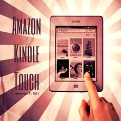 Vintage Amazon Kindle Touch