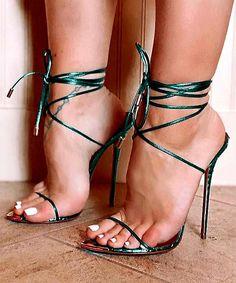 Black Strappy High Heels, Sexy Legs And Heels, Open Toe High Heels, Hot High Heels, High Heels Stilettos, Womens High Heels, Stiletto Heels, Pumps, Beautiful High Heels