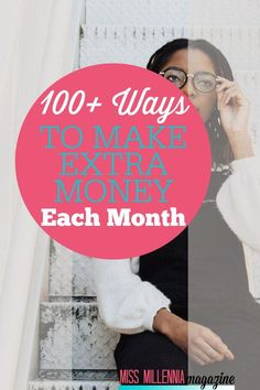 Looking for ways to earn some extra cash? This post is loaded with over 100 ways to make extra money every month. Check it out! by missmillmag Read Make Money Blogging, Make Money From Home, Money Tips, Money Saving Tips, Way To Make Money, Make Money Online, Earn Extra Cash, Extra Money, Money Matters