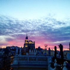 #madrid #demadridalcielo #sky #granvia #granviamadrid