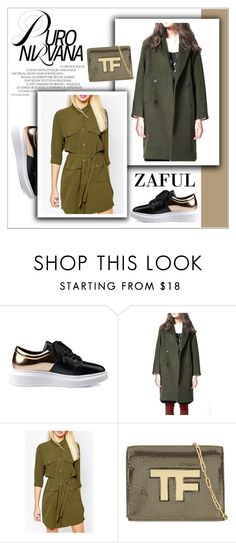 """""""ZAFUL/ http://www.zaful.com/?lkid=8297"""" by helenevlacho ❤ liked on Polyvore featuring Tom Ford, women's clothing, women, female, woman, misses, juniors and zaful"""