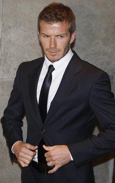 Passion For Luxury: David Beckham Style Icon