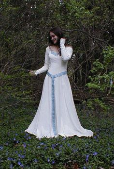 A Celtic dress for casual wear