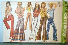 1970s Vintage Uncut Simplicity Pattern 9374 by TabbysVintageShop, $7.50