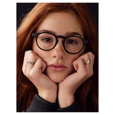 Amalie from @1kidmodelmanagement wearing glasses from @etniabarcelona kindly lent to us by @pdbriller @p.drage - Hair and makeup y Marianne Rud.⠀ .⠀ .⠀ .⠀ .⠀ .⠀ #etniabarcelona #glasses #eyewear #redhair #freckles #model #modelkids #coolkids #copenhagen #face #portrait #closeup