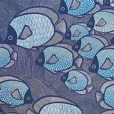 print & pattern: TEXYILES - ulrika gyllstad #pattern #surfacepattern