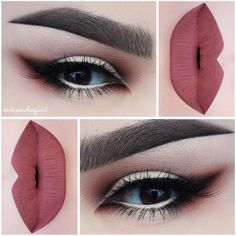 You can really recognize her love for the texture of makeup through her various lip designs on Instagram. In each post, she applies lipstick with such precision and accuracy, the lips seem to be naturally born with that color. More: http://blog.furlesscosmetics.com/depeche-gurl/