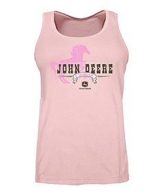 Love this Pink 'Cowgirl' Horse Tank - Plus Too on #zulily! #zulilyfinds