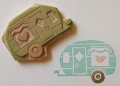 I love this handmade little stamp from hunnyscoots etsy shop