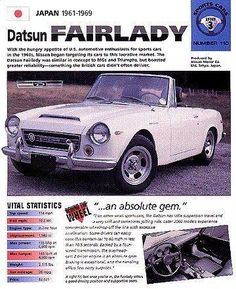 2014 Jeep Wrangler, Jeep Wrangler Unlimited, Japanese Cars, Vintage Japanese, Datsun 1600, Datsun Roadster, Car Advertising, Commercial Vehicle, Nissan Skyline