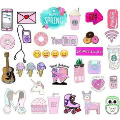 62 Ideas Wallpaper Girly Art For 2019 Printable Stickers, Cute Stickers, Planner Stickers, Cute Backgrounds, Cute Wallpapers, Tumblr Wallpaper, Iphone Wallpaper, Transparents Tumblr, Doodles