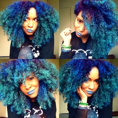 Top 10 Amazing Bold Colors for Natural Big Hair