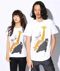 graniph(グラニフ)の「ベーシックTシャツ/チューチューアニマルズ(Tシャツ・カットソー)」 - WEAR