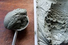 Liquorice Ice Cream – Claudia Fleming, The Last Course    3 Cups (720ml) whole milk    1 cup (240ml) whipping cream (35% fat)    4oz (113g) panda brand chewy liquorice, cut into small pieces     12 egg yolks (I reduced to 9)    1/2 cup (100g) sugar    1/8 tsp salt