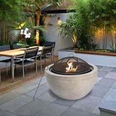The 5 Main Types of Fire Pits You Need to Know Before Purchasing - Cozy Home 101 Wood Fire Pit, Gas Fire Pit Table, Wood Burning Fire Pit, Fire Pit Wayfair, Zen, Types Of Fire, Concrete Wood, Concrete Fire Pits, Fire Bowls