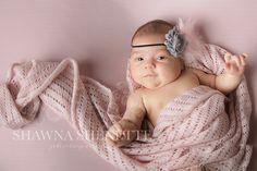 Six Week Old Baby Girl Massachusetts Baby Photographer