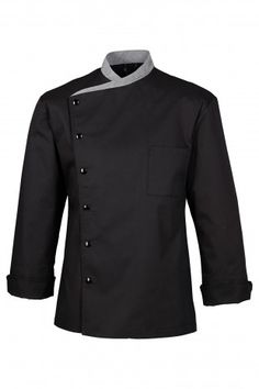 Giacca|Guarnizioni GRIGIO|1 tasca sul petto|Automatici|Maniche lunghe|Occhielli d'aerazione sotto le braccia|Lunghezza 76 cm