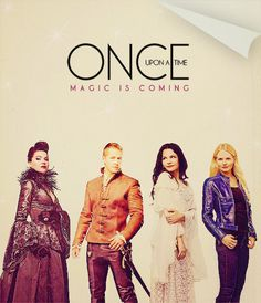 Once Upon a Time - Magic is Coming  Just started watching this on Netflix.  Officially hooked!