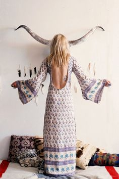 Bohemian Royale Empress Dress - Dusk • Spell & the Gypsy Collective