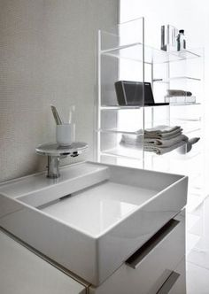 Kartel by Laufen Bathrooms. One of our #kbbheroes for 'Shoebox Living' - design-led small bathroom and kitchen spaces.