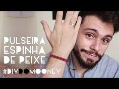 Como fazer pulseira espinha de peixe com cordão | DIY | DANIEL MOONEY - YouTube