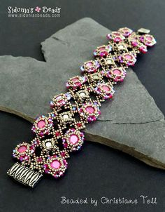 Bracelet Tutorial  Beading Tutorial  8mm Crystal Chatons