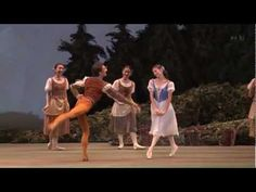Giselle: Alina Cojocaru, Manuel Legris PDD act 1 #ballet