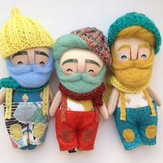 Pocket Mukla man in the shop @mukla_doll_shop #mukladolls #dollmaker #ooakdoll #handmadetoys #handmadedoll