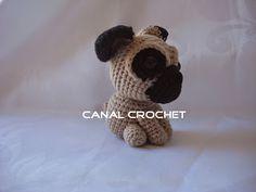 CANAL CROCHET: pug dog amigurumi free pattern: