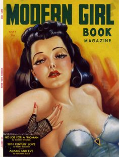 The published cover of Modern Girl Book Magazine May 1939 -Included in sale