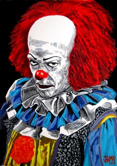Pennywise ( Stephen King's IT) by JosefVonDoom on DeviantArt
