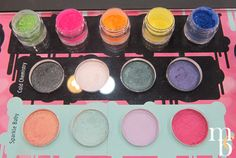 NEW SUGARPILL! Swatched the upcoming Cold Chemistry and Sparkle Baby palettes + 5 new pigments at IMATS LA 2012