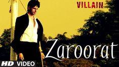 ▶ EXCLUSIVE: Zaroorat Video Song | Ek Villain | Mithoon | Mustafa Zahid - Video Dailymotion