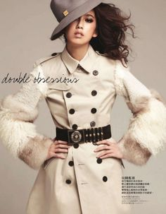 Annie | Cliff Chen #photography | Elle Taiwan July 2012    I LOVE this jacket