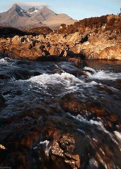 gif image of mountain stream :) [click photo]