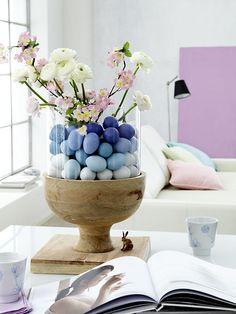 Easter Egg Decorating Ideas #EasterDecor #Easter