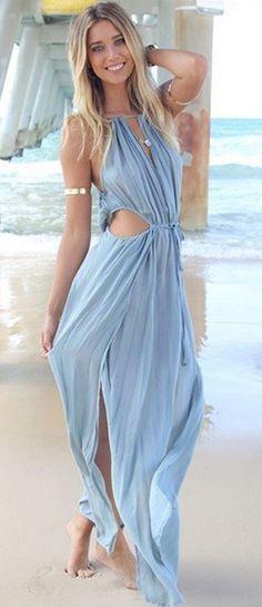 Sexy Maxi beach dress