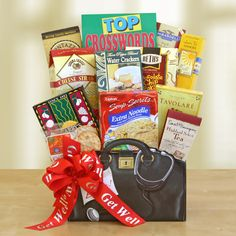 Our Get Well Wishes Gift Basket