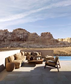 Desert Modern Sectional - Furniture - Products - Products - Ralph Lauren Home - , Now talk about patio furniture what a party we will have!