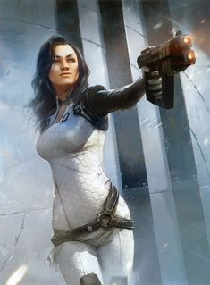 """Miranda Lawson"" Human Cerberus Agent, Overseeing the Lazarus Project,From the ""Mass Effect"" series,Developed by BioWare Your #1 Source for Video Games, Consoles & Accessories! Multicitygames.com"
