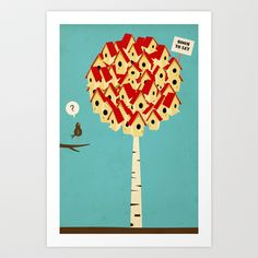 Room to let Art Print by Martynas Juchnevicius - $22.88