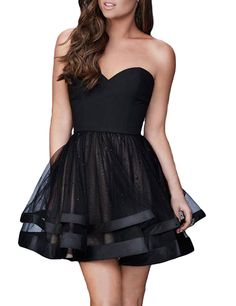 LovingDress Women's Lace Homecoming Dresses Applique&Beaded Short Prom Dress at Amazon Women's Clothing store: