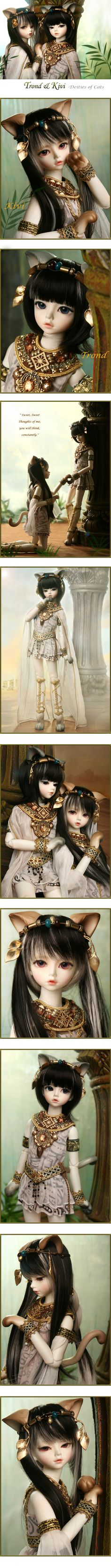 Trond & Kivi, Deities of Cats - Legend of the Doll