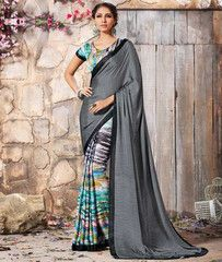Multi Color Crepe Casual Function Sarees : Karnika Collection  YF-40708